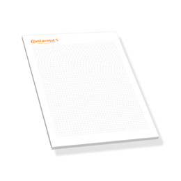 Continental A5 writing pad, 50 sheets (Product No.: 4020800)