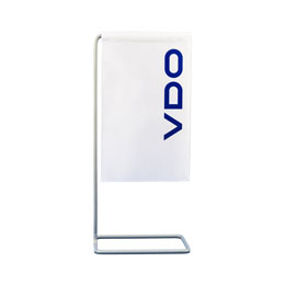 VDO Table Banner with Stand (Product No.: 4203500)